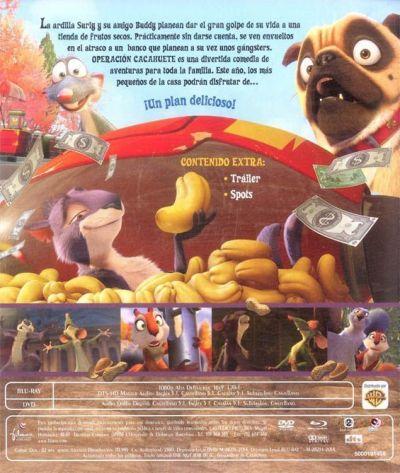 OPERACIÓN CACAHUETE (2014 - análisis BD + DVD en AudioVideoHD.com)