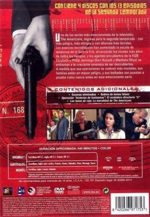 THE AMERICANS (Temporada 2) Análisis en AudioVideoHD.com