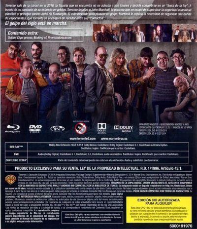 TORRENTE 5: OPERACIÓN EUROVEGAS. Analizado Blu-Ray en AudioVideoHD.com
