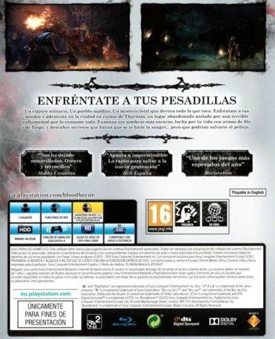 BLOODBORNE (análisis en PS4). Analizado en AudioVideoHD.com