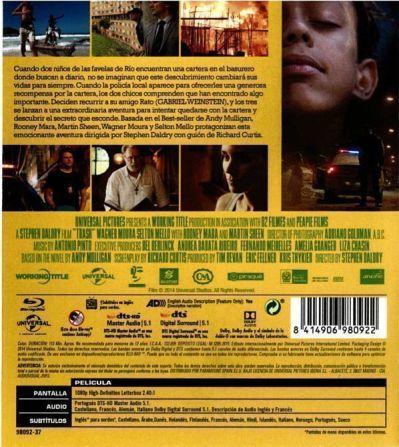 Trash (Ladrones de Esperanza) 2014, AudioVideoHD.com