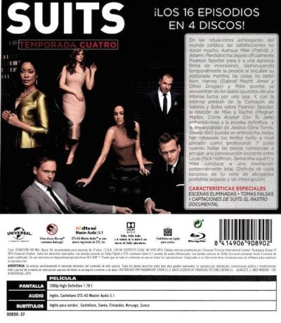 Suits (Temporada 4) AudioVideoHD.com
