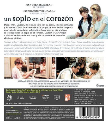 Un soplo en el corazón (1971) Edición restaurada en Blu-Ray - AudioVideoHD.com