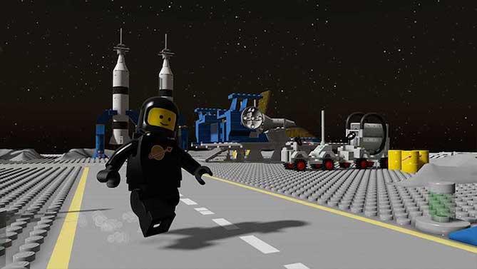 CLASSIC SPACE. El primer DLC para LEGO WORLDS