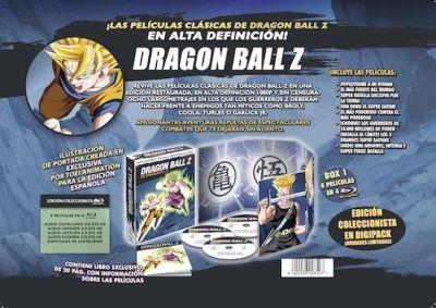 DRAGON BALL Z. LAS PELÍCULAS/BOX#1 / AudioVideoHD.com