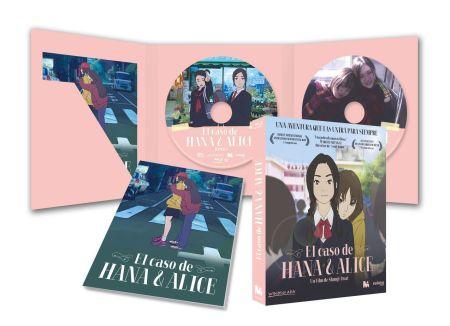 El caso de Hana & Alice (2015) Analizado en AudioVideoHD.com