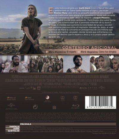 María Magdalena (2018) Blu-Ray analizado en AudioVideoHD.com