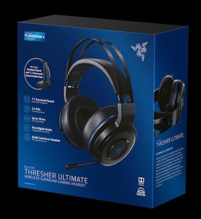 "AURICULARES ""Razer Thresher Ultimate"" para PlayStation 4 - Probados en AudioVideoHD.com"