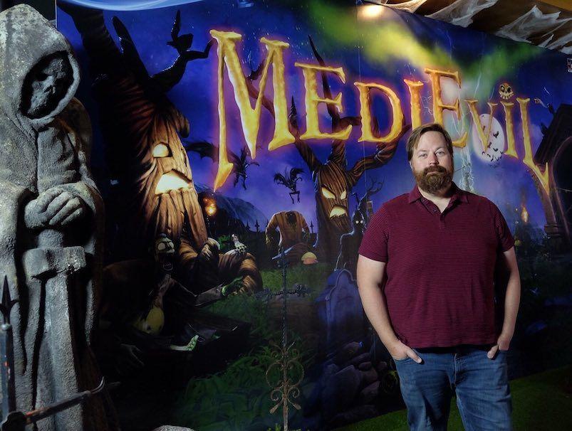 Jeff Nachbaur, productor ejecutivo de MediEvil