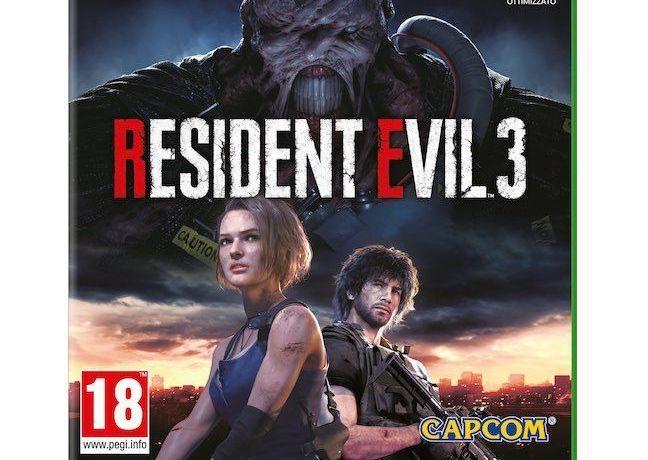 Resident Evil 3 - Xbox ONE -2020