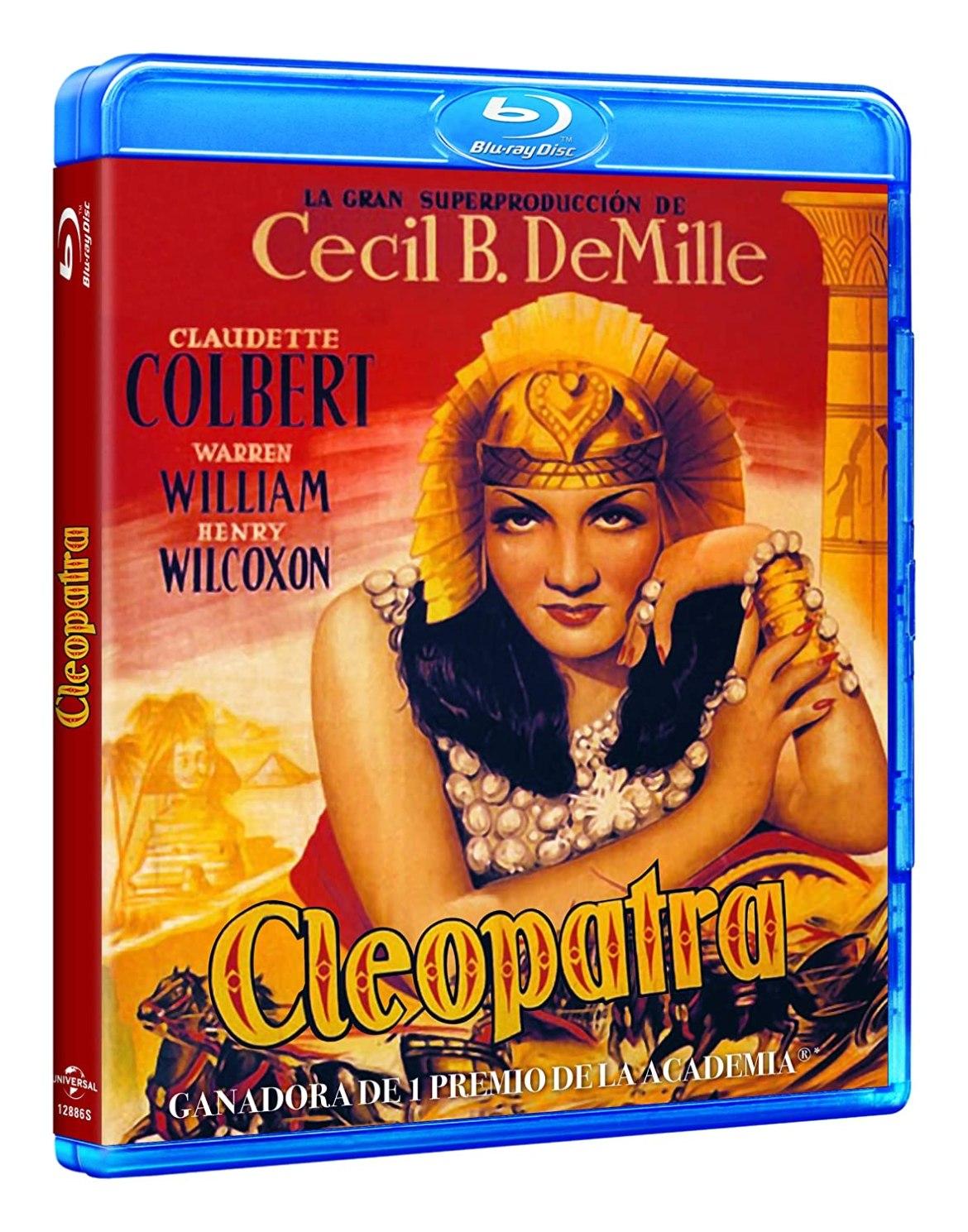 """""""Cleopatra"""" (1934) en Blu-Ray"""