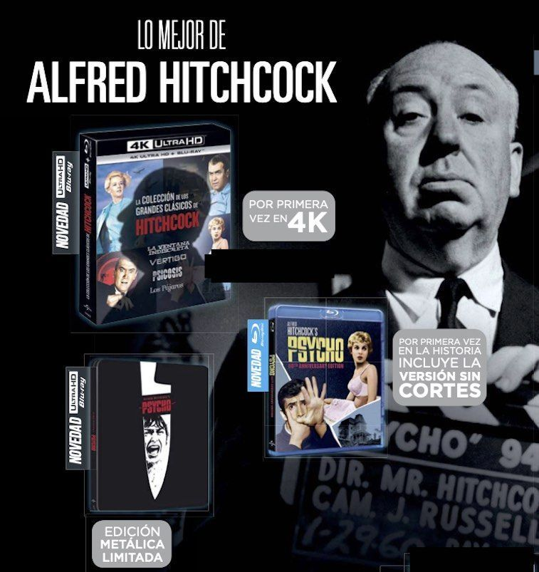 Pack Alfred Hitchcock
