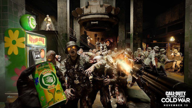 Zombis en Call of Duty: Black Ops Cold War