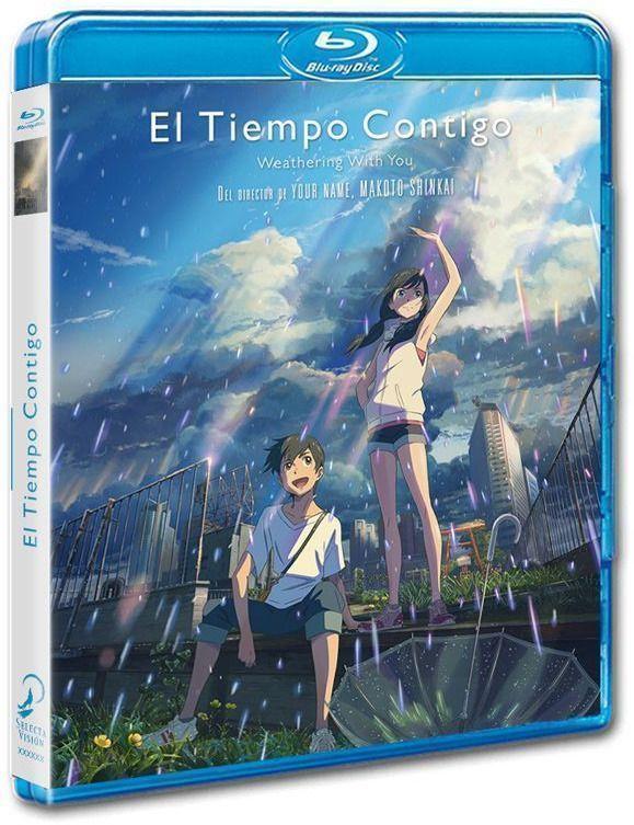 Edición en Blu-Ray - El tiempo contigo (2019)
