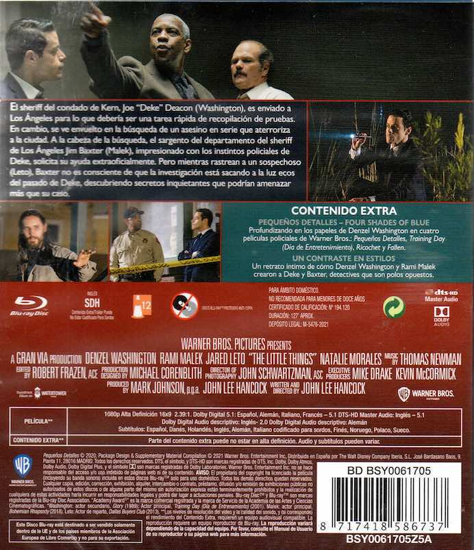 Pequeños Detalles - Blu-Ray
