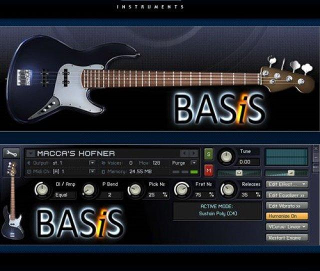 Vir2 Instruments Basis Vsti Dxi Rtas Au Hybrid Dvdr Airiso Screenshot
