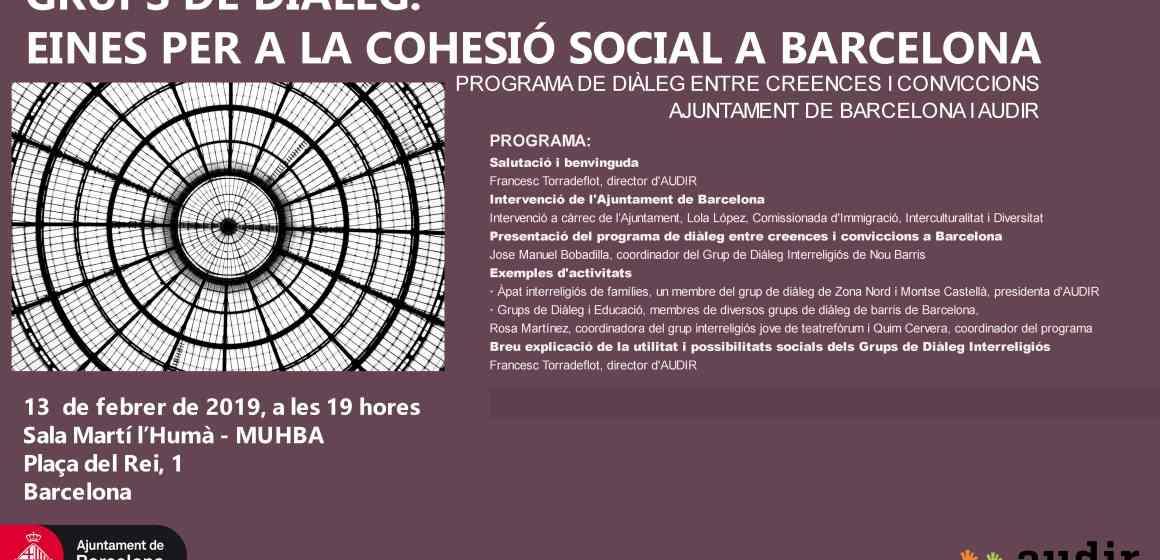 Grups de diàleg: eines de cohesió social a Barcelona