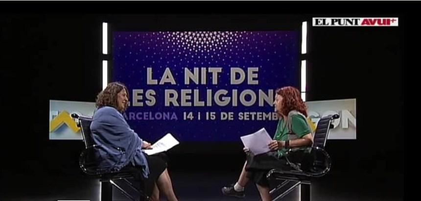 La Nit de les Religions 2019 a El Punt Avui TV