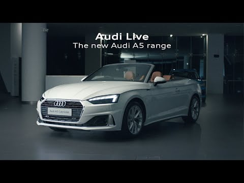Audi Live - Virtual premiere of the new Audi A5