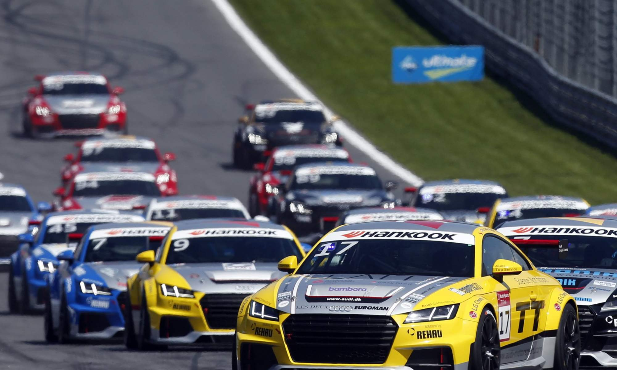Successful First Half Of The 2015 Audi Sport Tt Cup