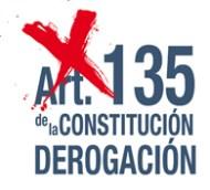Derogación Art 135 Constitución