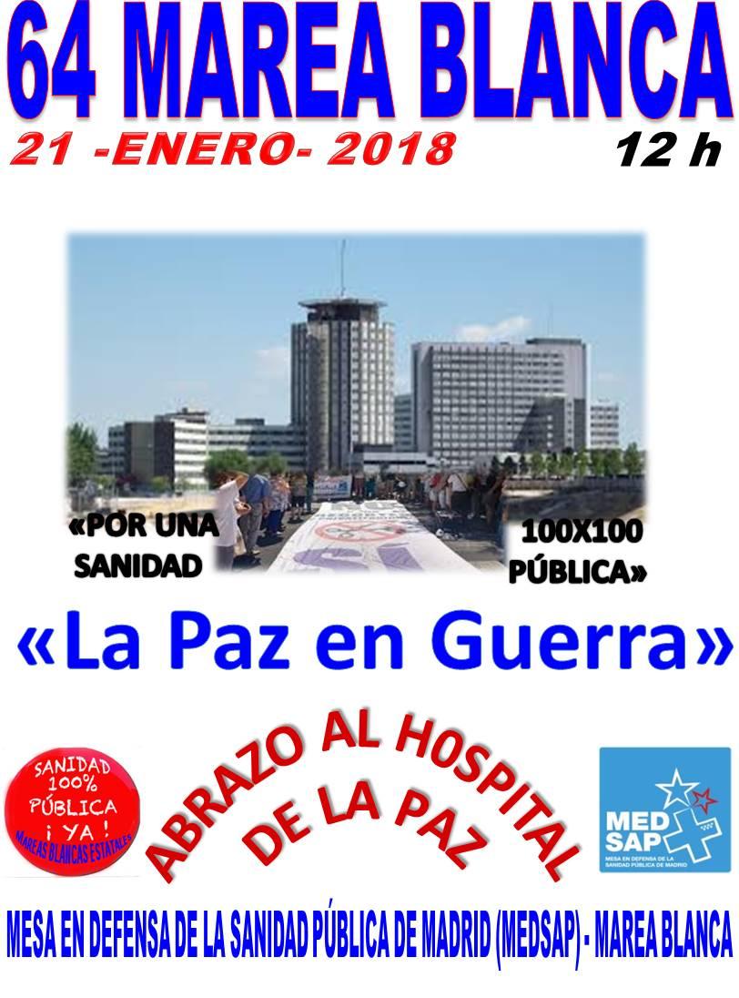 64ª Marea Blanca – 21/01/2018