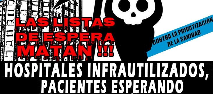 Jornada De Lucha Estatal Contra Las Listas De Espera – 25/01/2018