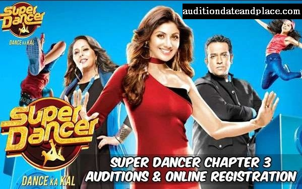 Super Dancer Season 3 2018 Auditions Date and  Place & Online Registration