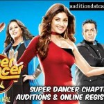Super Dancer Season 3 2018 Auditions Date and Place
