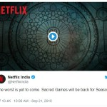 Sacred Games Season 2 release dates