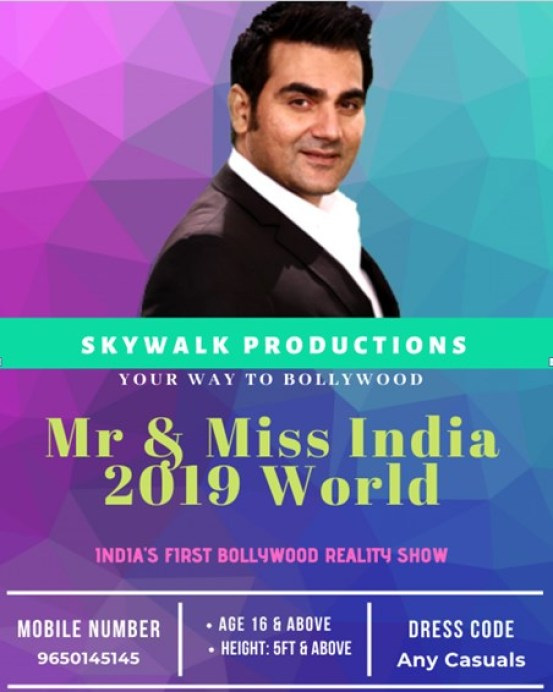 Mr & Miss India 2019 World Audition & Online Registration