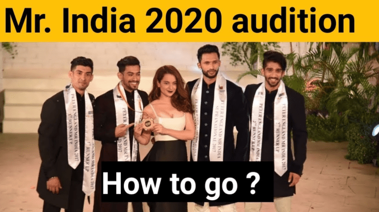 Mr. India 2020 Auditions & Online Registration