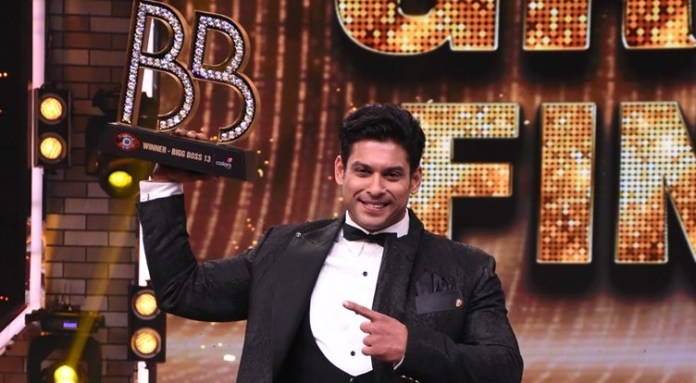 Sidharth Shukla– Bigg Boss Season 13 Winner 2019-20