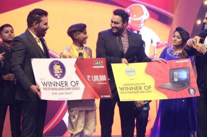Harman Singh Voice of Punjab Chhota Champ Winner for season 5