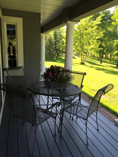Back Porch Dining AFTER