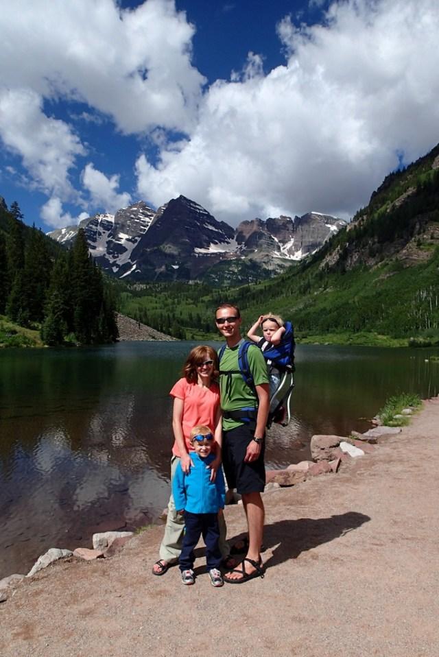 Family Pic at Lake