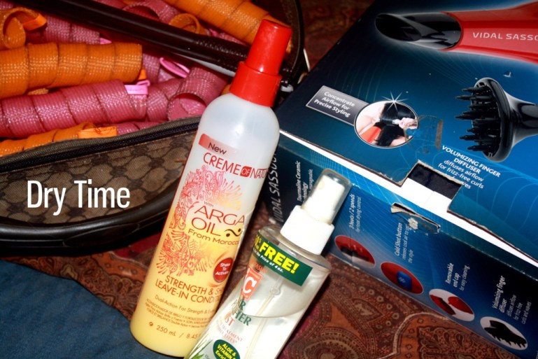 AudreyCan - Wash Day Diaries - Autumn 2015 - Dry Time 1