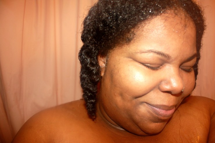 AudreyCan - Wash Day Diaries - Autumn 2015 - Shampoo & Condition 3