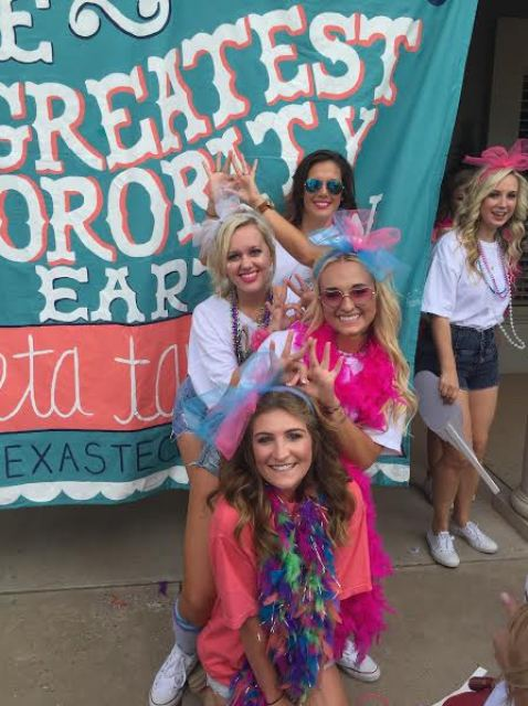 sorority bid day