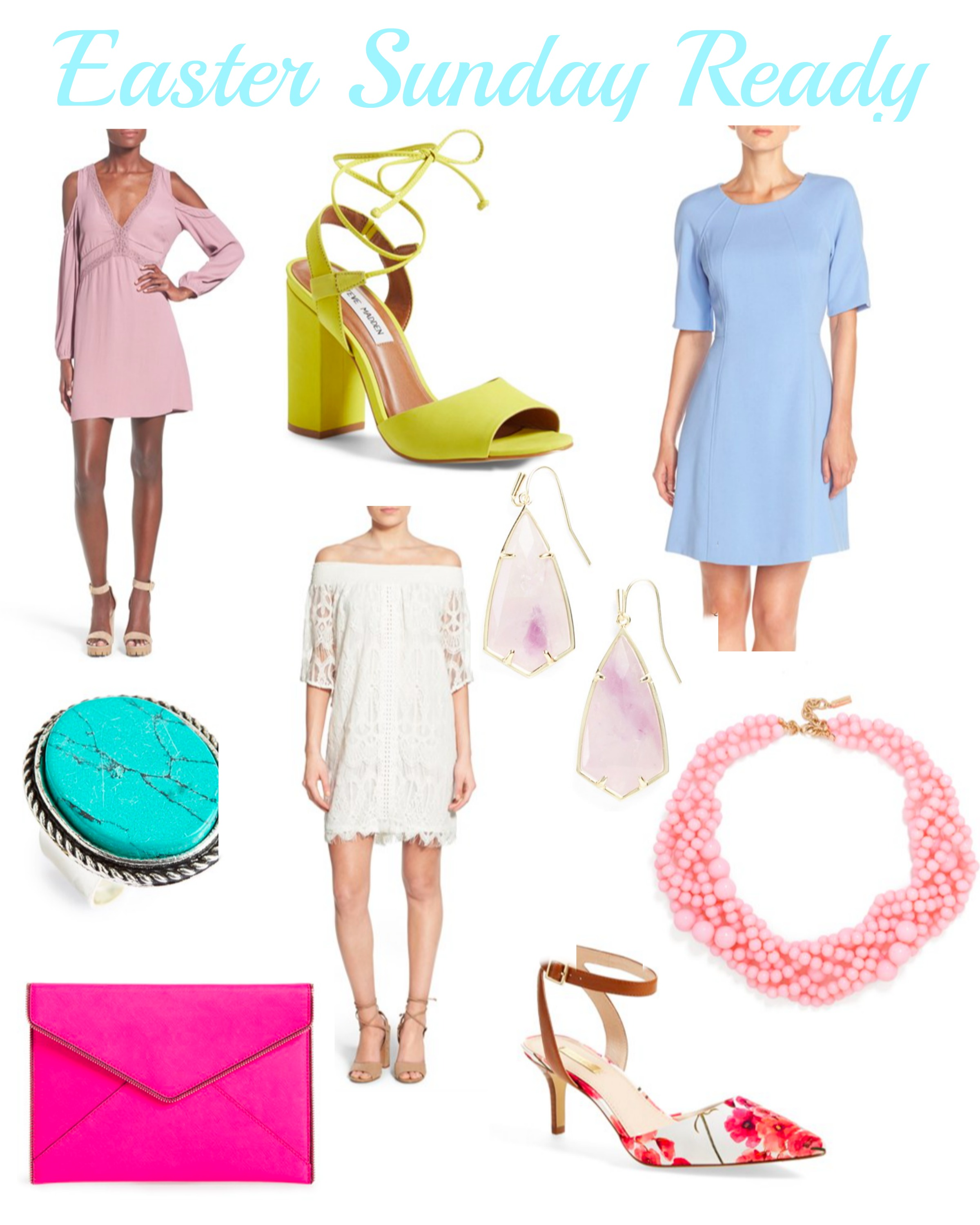 easter sunday ready in pastels