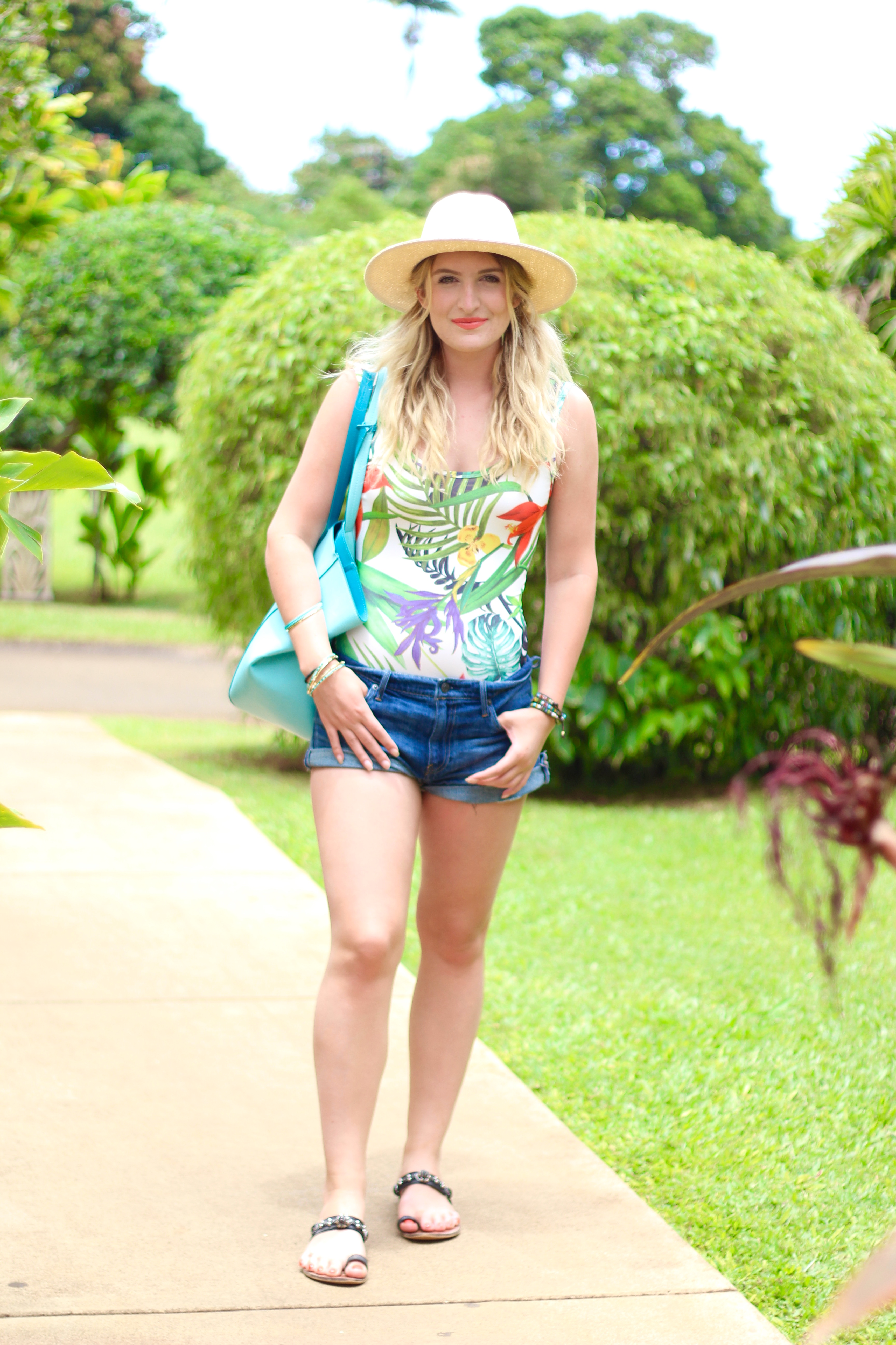 tropical forever 21 one piece | AMS Blog
