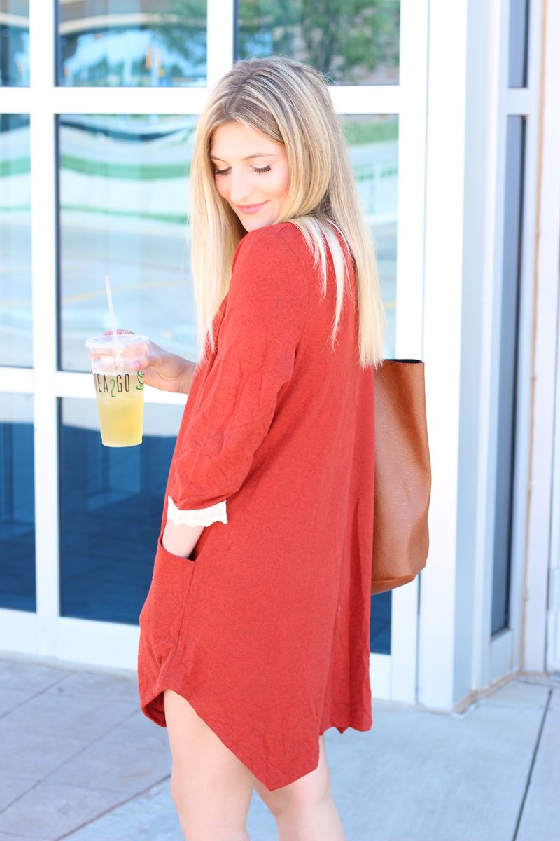 Fall Errands Dress | AMS Blog