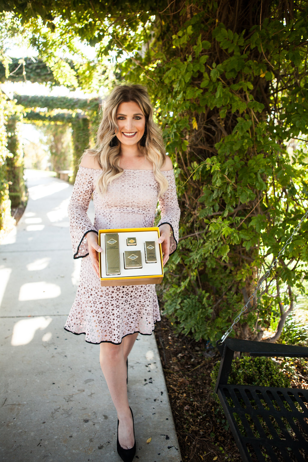 L'Occitan Holiday Gifts for the girl | Luxurious skincare | Audrey Madison Stowe a fashion and lifestyle college blogger - L'Occitane Gift Set featured by popular Texas style blogger, Audrey Madison Stowe