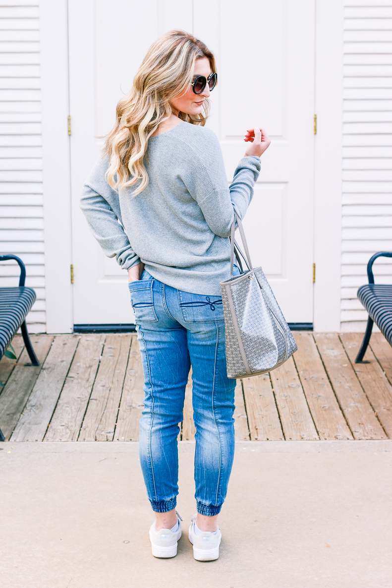 Denizen Jeans styled by popular Texas fashion blogger, Audrey Madison Stowe