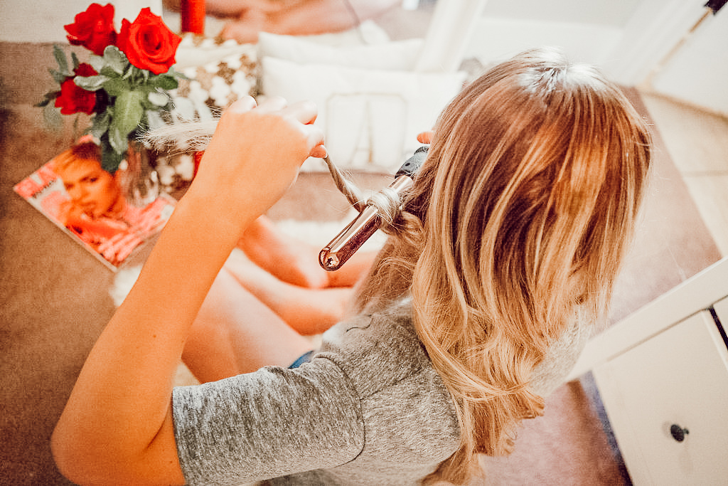 Bouncy Spring Curls For Spring With Bombay Hair | Hair Tutorial Inspo | Audrey Madison Stowe a Fashion and Lifestyle Blogger