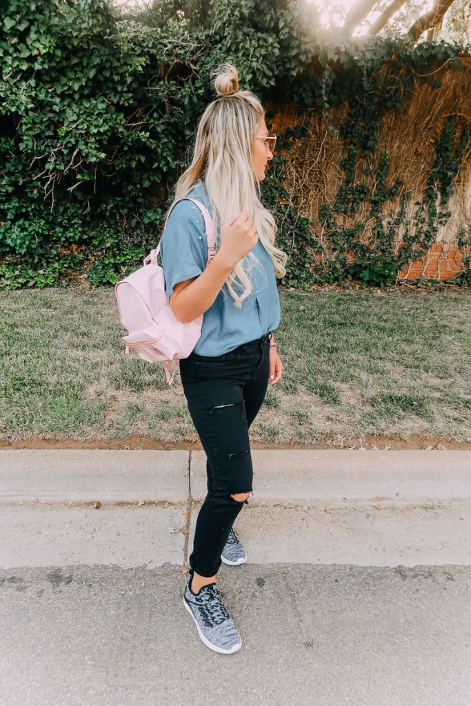 How To Care For Permanent Hair Extensions featured by popular Texas beauty blogger Audrey Madison Stowe