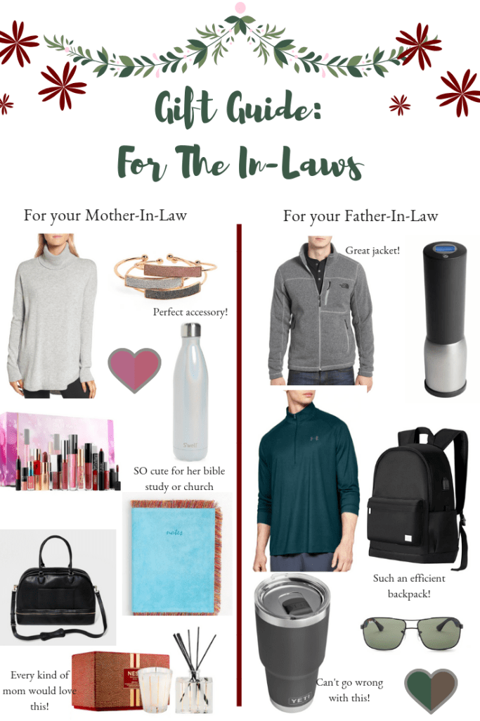 Gift Guide For The In-Laws | Gifts for your boyfriends parents | Audrey Madison Stowe a fashion and lifestyle blogger