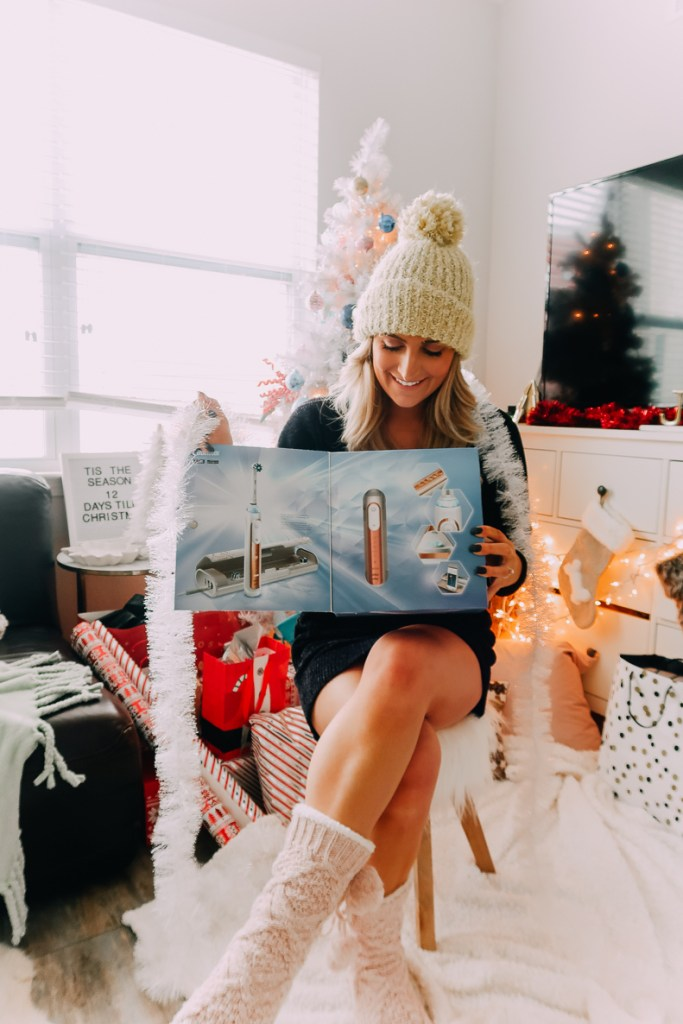 Give the Gift of Healthy Teeth with Oral-B | Gift Idea | Audrey Madison sTowe a fashion and lifestyle blogger
