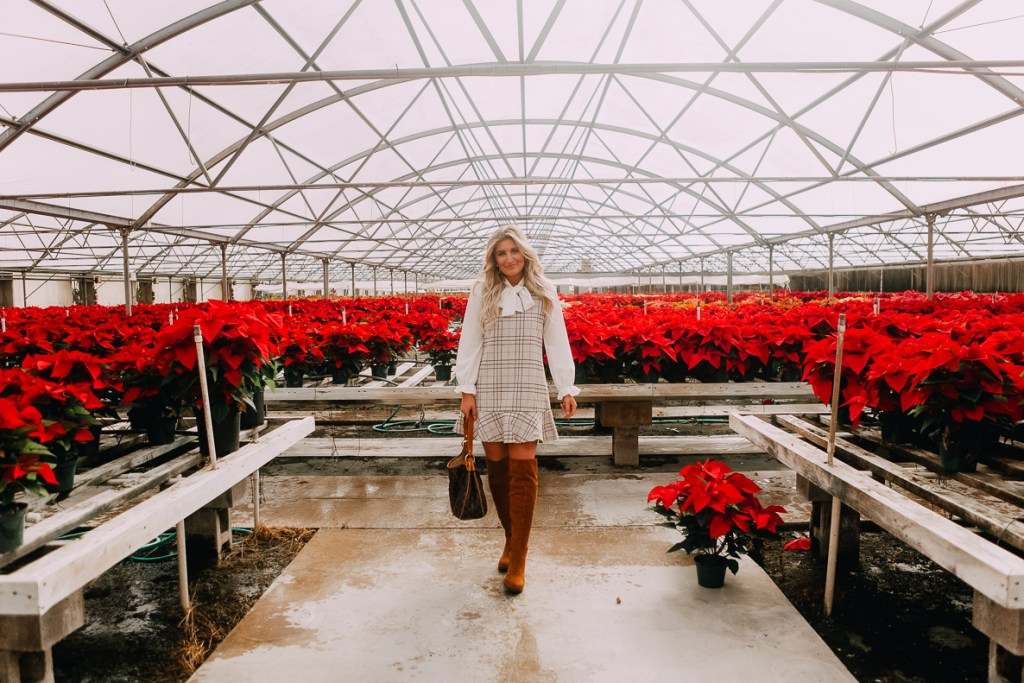 Chicwish Plaid Dress | Target | Nordstrom | The Best Christmas Party Dress featured by top Texas fashion blogger Audrey Madison Stowe