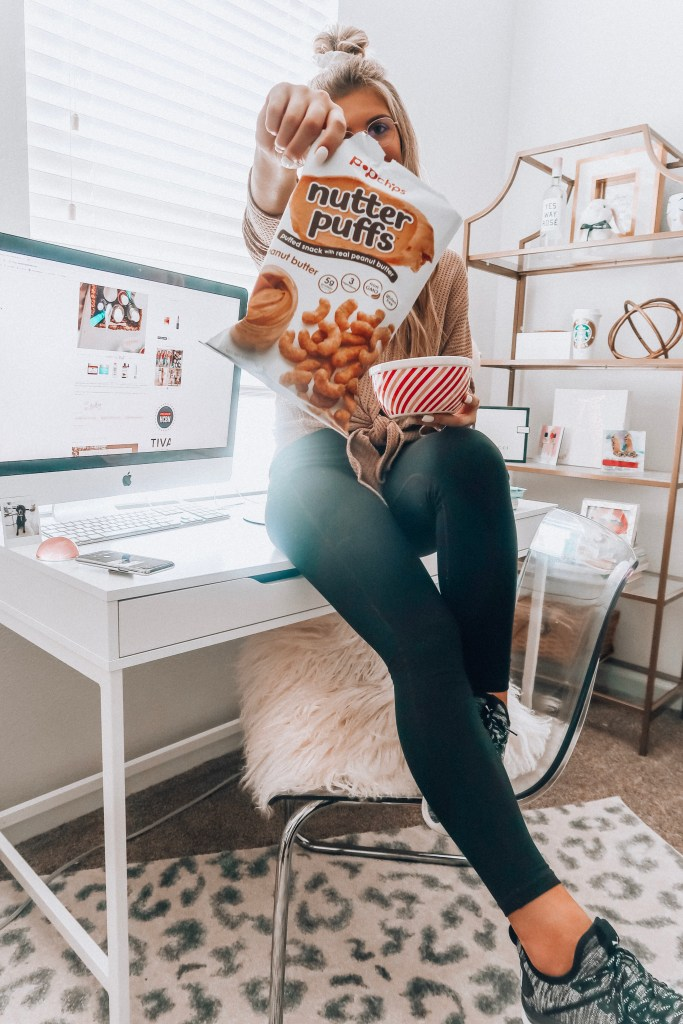 My Favorite Healthy Desk Snacks | Nutterpuffs | Audrey Madison Stowe a fashion and lifestyle blogger